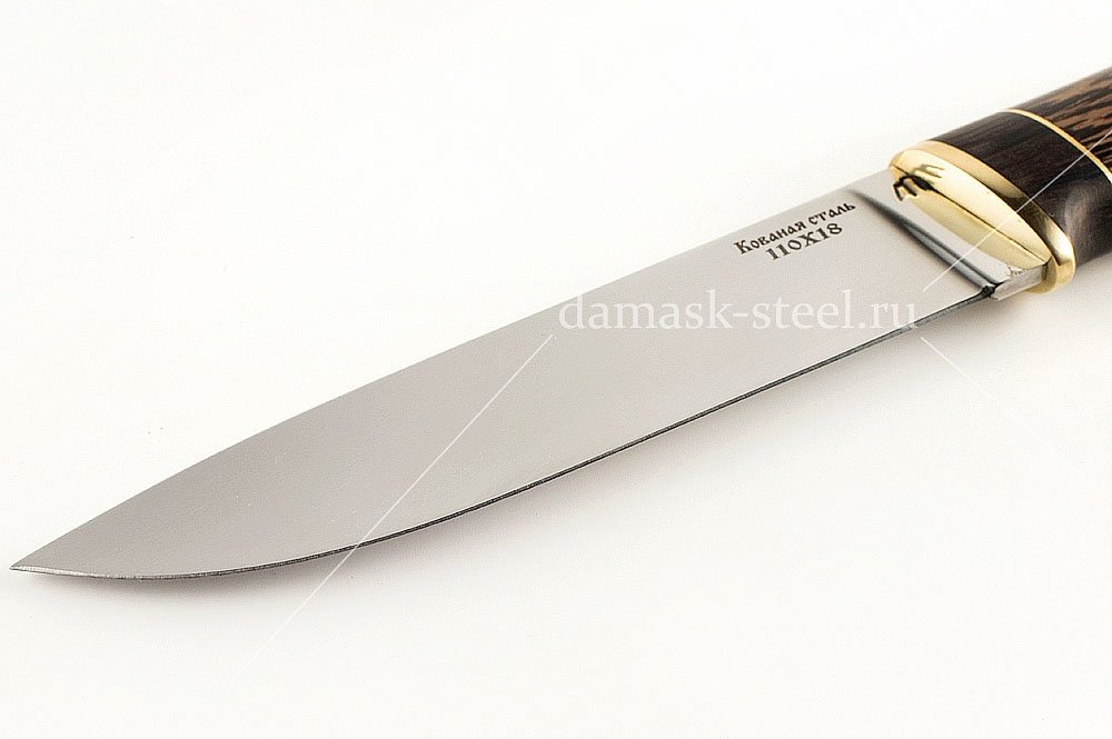 Нож Варан сталь 110х18 венге