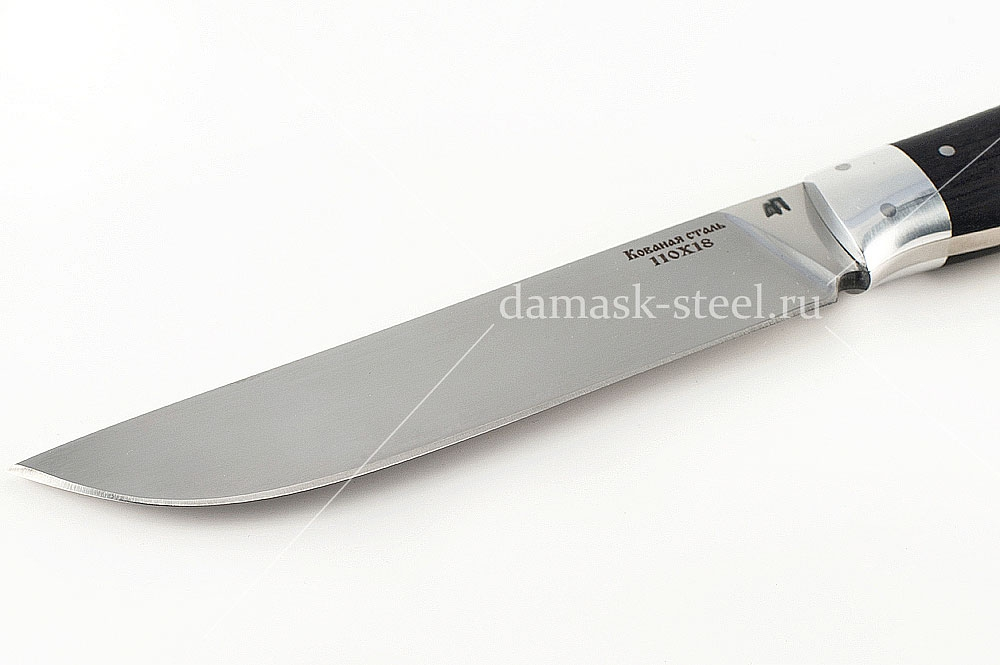 Нож Кобра сталь 110х18 граб цельнометаллический
