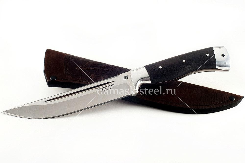 Нож Волк-2 сталь 110х18 граб цельнометаллический