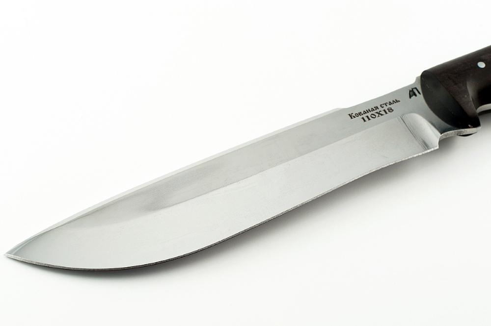Нож Бизон-1 сталь 110х18  цельнометаллический