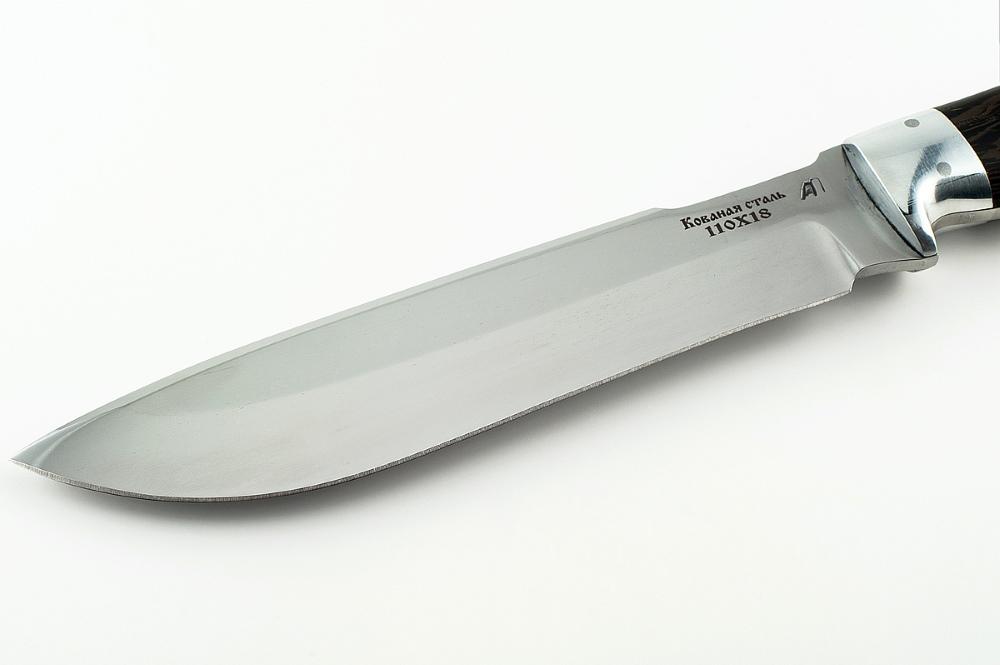 Нож Бизон-2 сталь 110х18 цельнометаллический