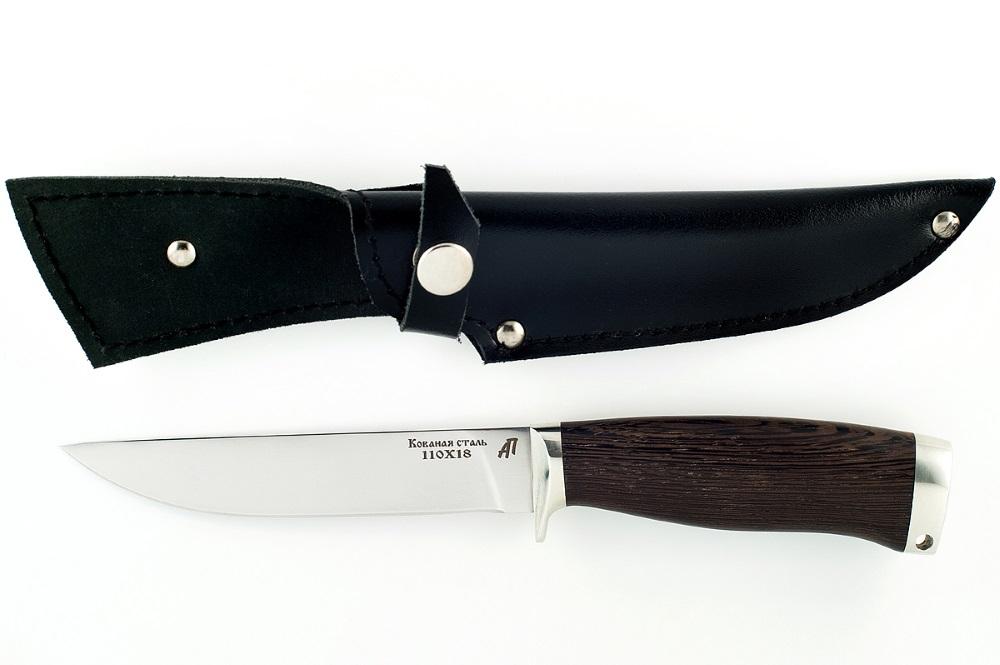 Нож Хорёк-5 сталь 110х18 венге