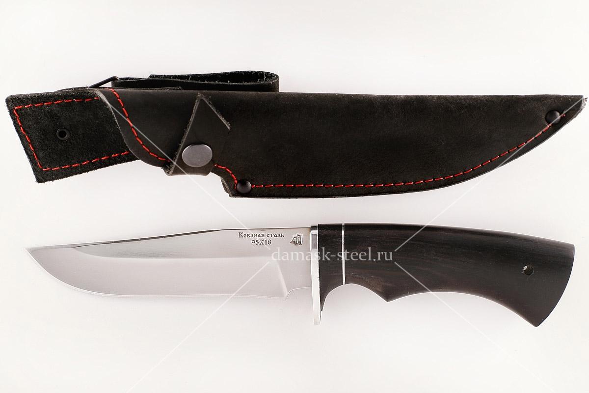 Нож Егерь-3 кованая сталь 95х18 граб