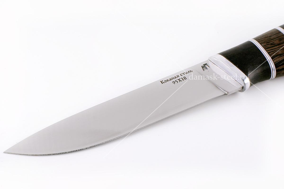 Нож Варан-7 кованая сталь 95х18 граб и венге