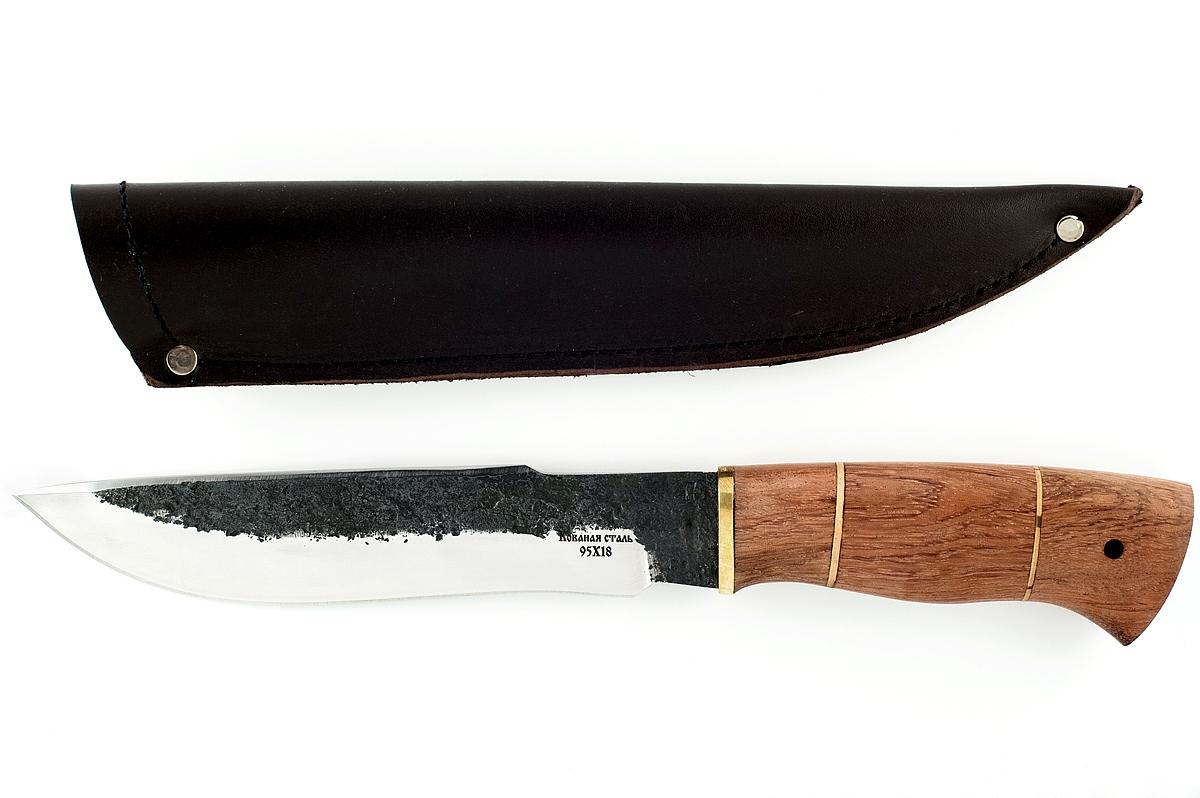 Нож Бизон-4 кованая сталь 95х18 бубинга