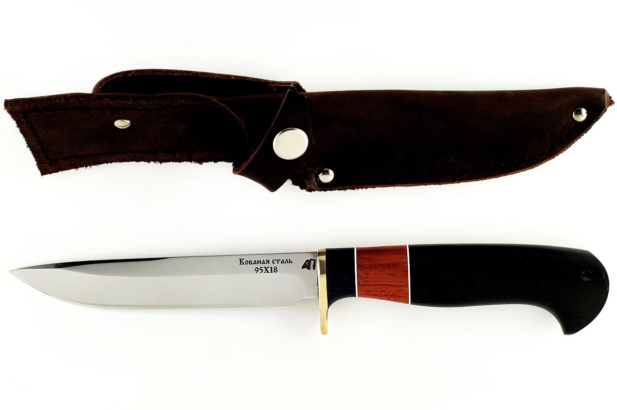 Нож НКВД-4 кованая сталь 95х18 граб и падук