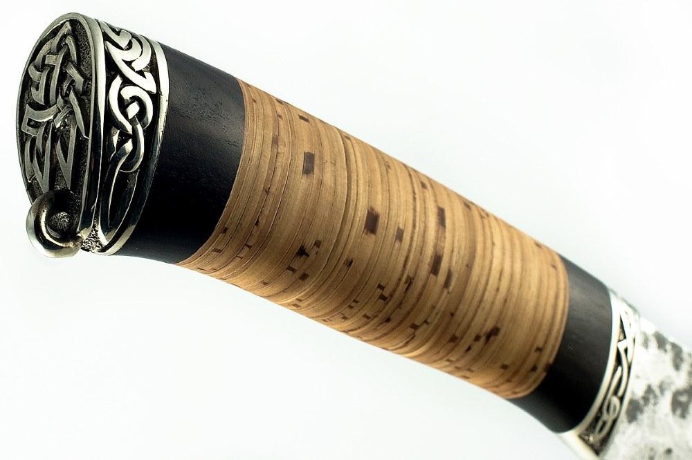 Нож Бизон кованая сталь 9хс граб