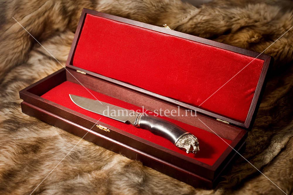 Шкатулка для ножа из дерева 1