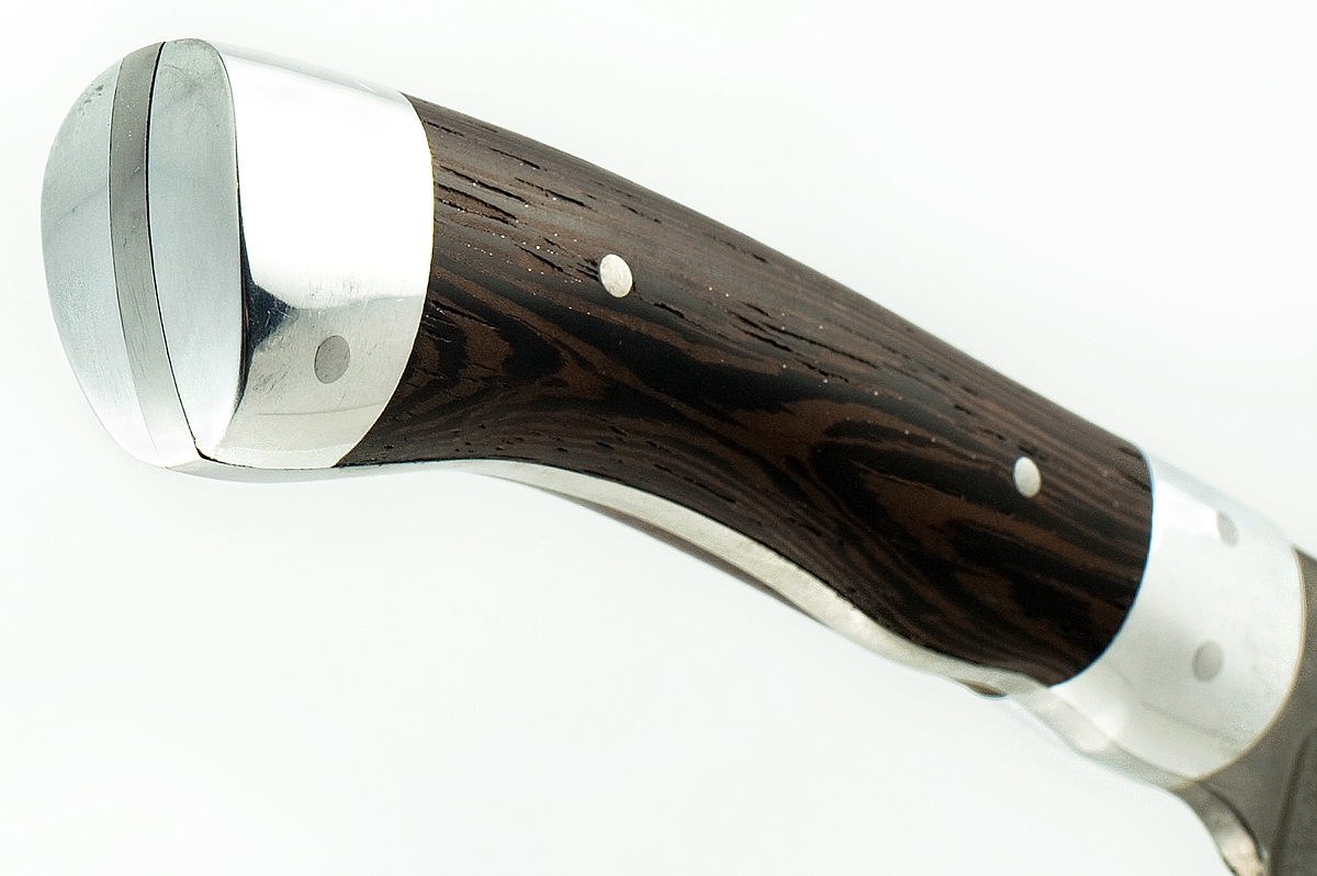 Нож Кабан-1 сталь литой булат цельнометаллический