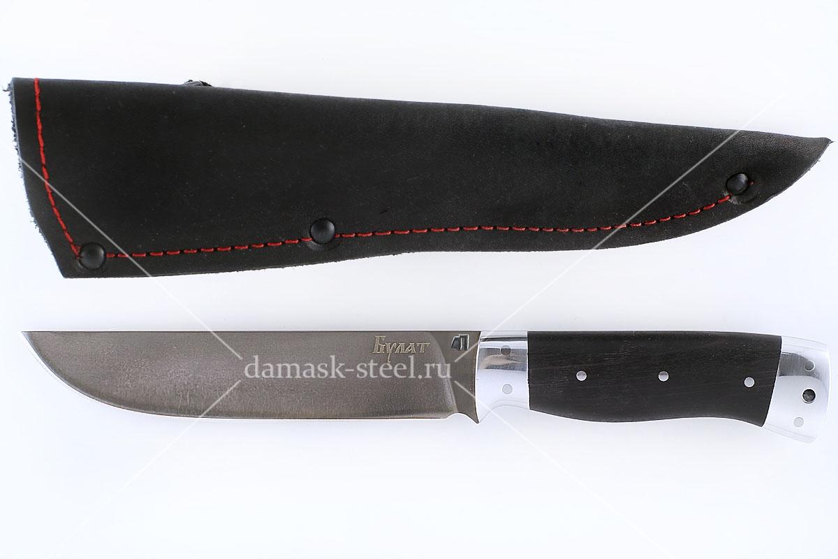 Нож Кобра-2 сталь литой булат цельнометаллический