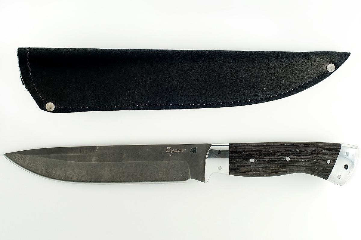 Нож Скорпион-3 сталь литой булат цельнометаллический