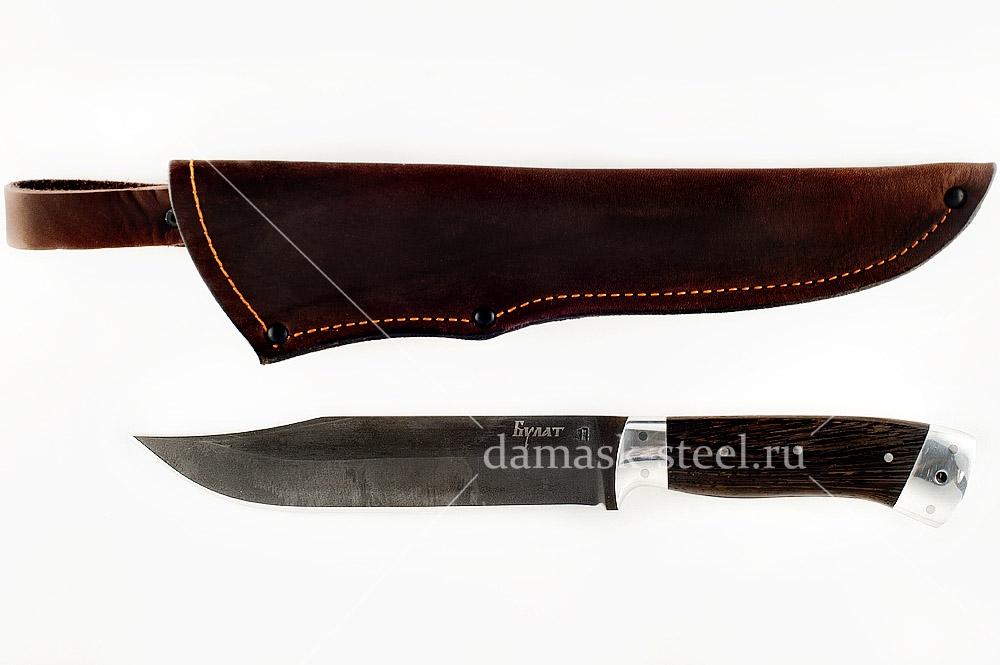 Нож Пират-1 сталь литой булат цельнометаллический
