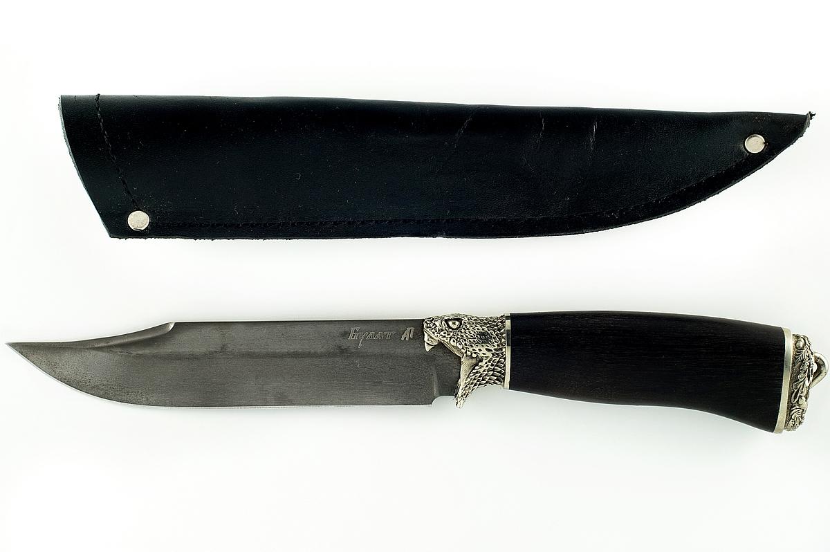 Нож Пират-3 сталь литой булат граб