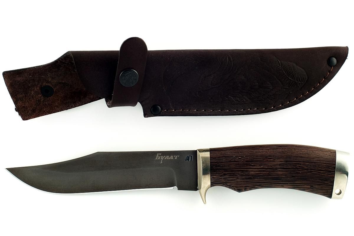 Нож Лис-3 сталь литой булат венге