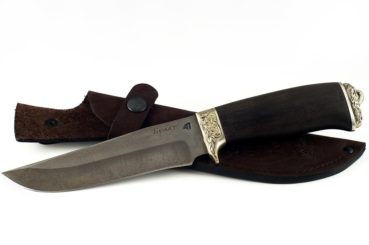 Нож Егерь-10 сталь литой булат граб