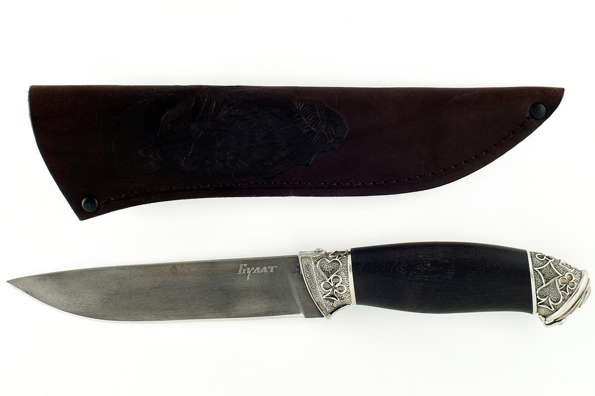 Нож Варан-10 сталь литой булат граб