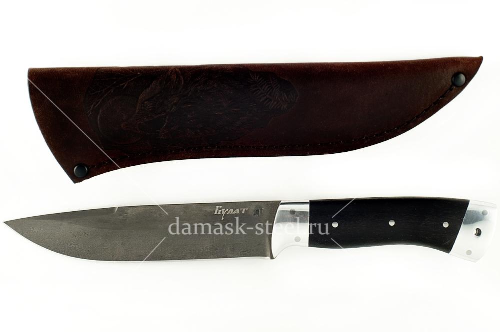 Нож Варан-8 сталь литой булат цельнометаллический