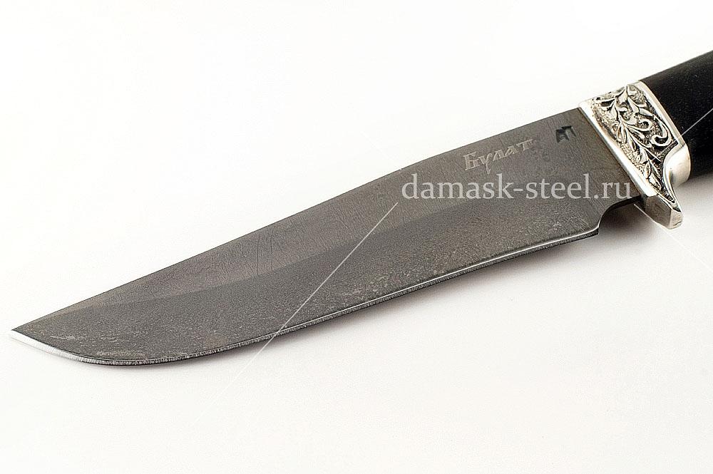 Нож Егерь-12 сталь литой булат граб
