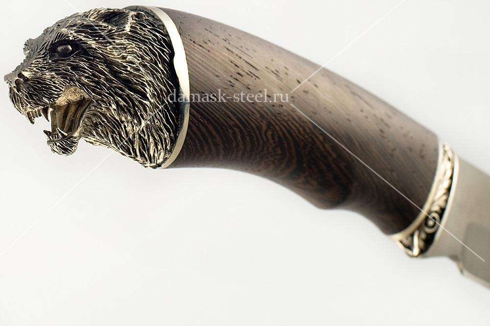 Нож Скорпион-26 сталь литой булат венге