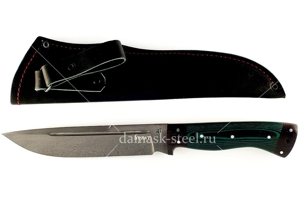Нож Скорпион сталь литой булат цельнометаллический
