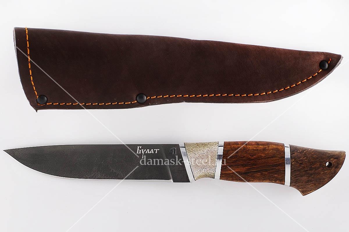 Нож Варан-1 сталь литой булат наборная рукоять