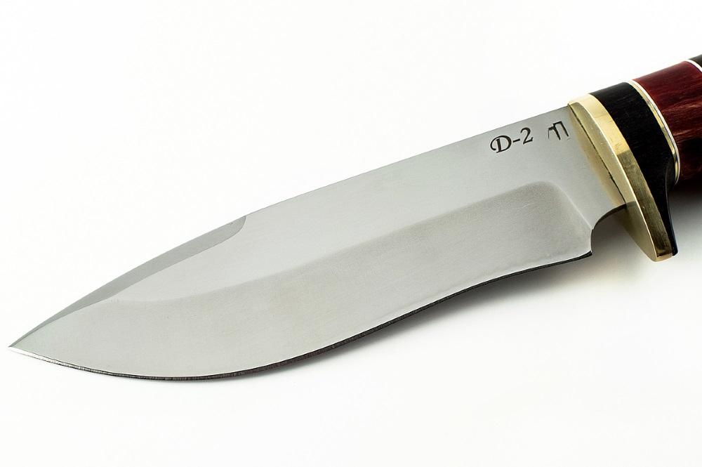 Нож Зубр-2 немецкая сталь D-2 граб