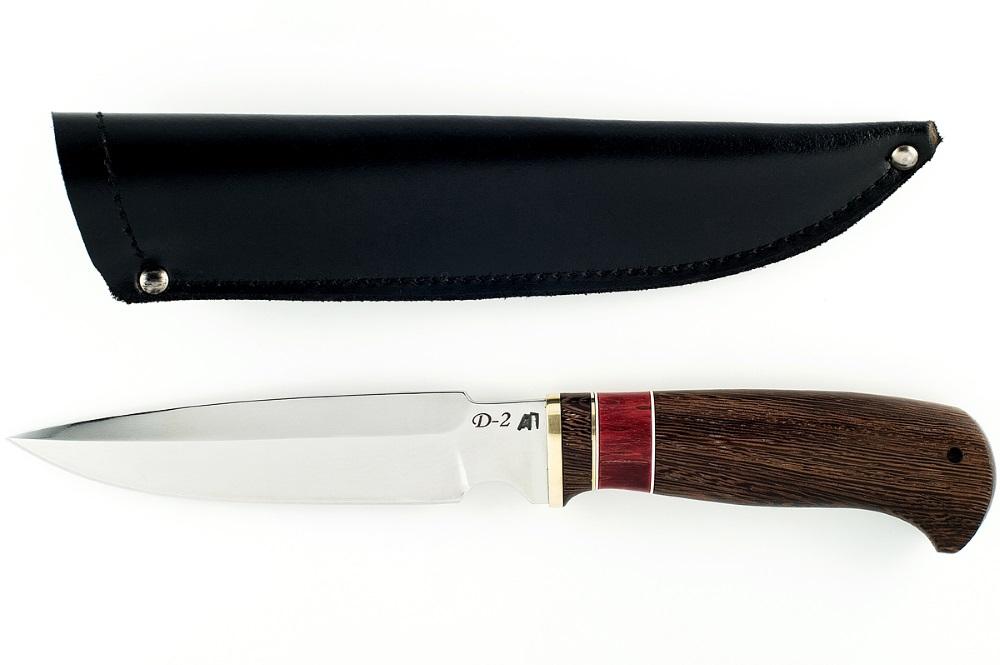 Нож Медведь немецкая сталь D-2 венге