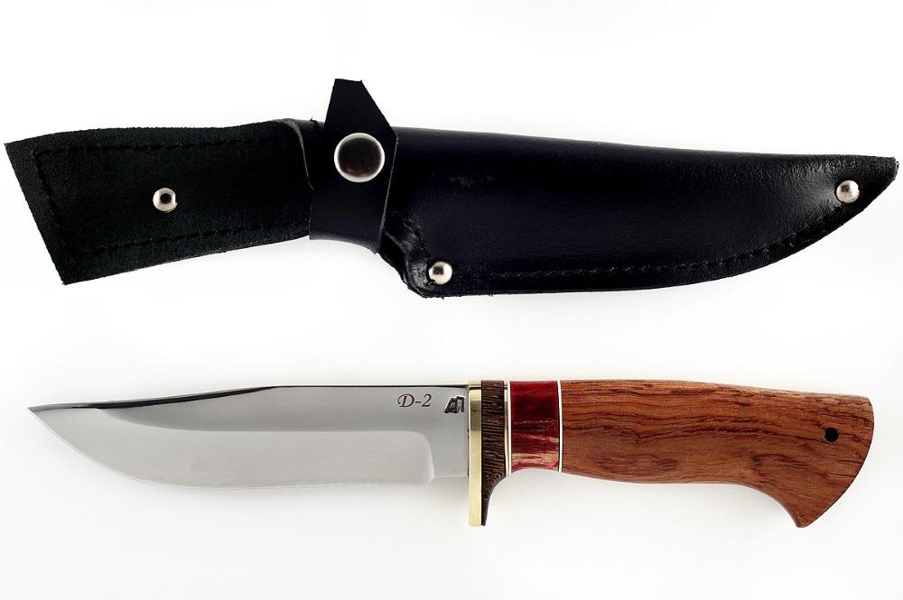 Нож Охотник немецкая сталь D-2 бубинга