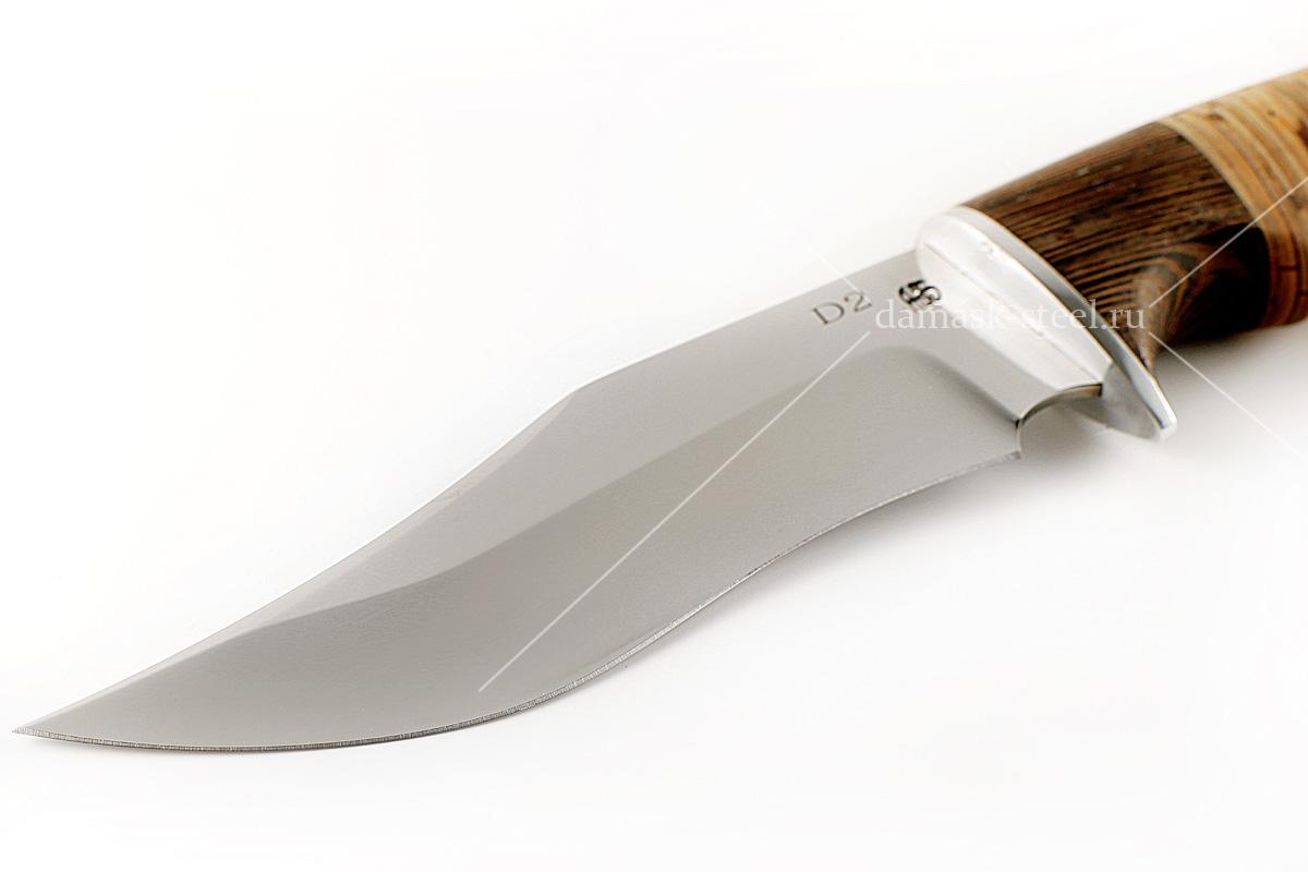 Нож Кабан(n)-1 немецкая сталь D-2 венге и береста
