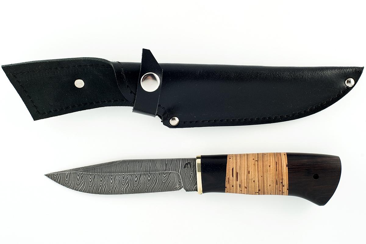 Нож Барс сталь граб и береста