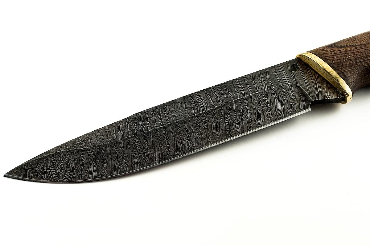 Нож Скорпион-15 сталь дамаск венге