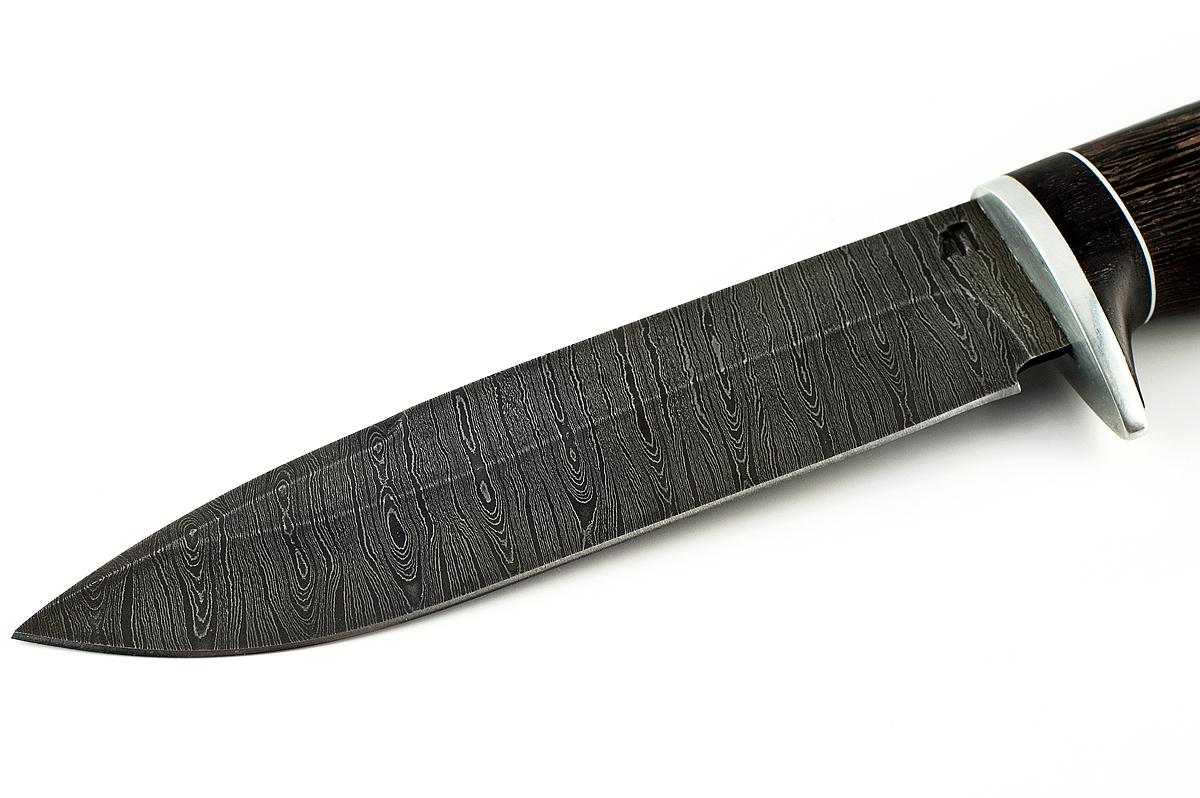 Нож Ворон-2 сталь дамаск венге