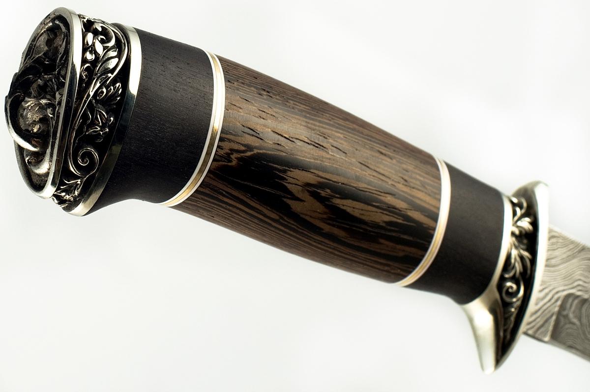 Нож НР-40-2 сталь дамаск венге