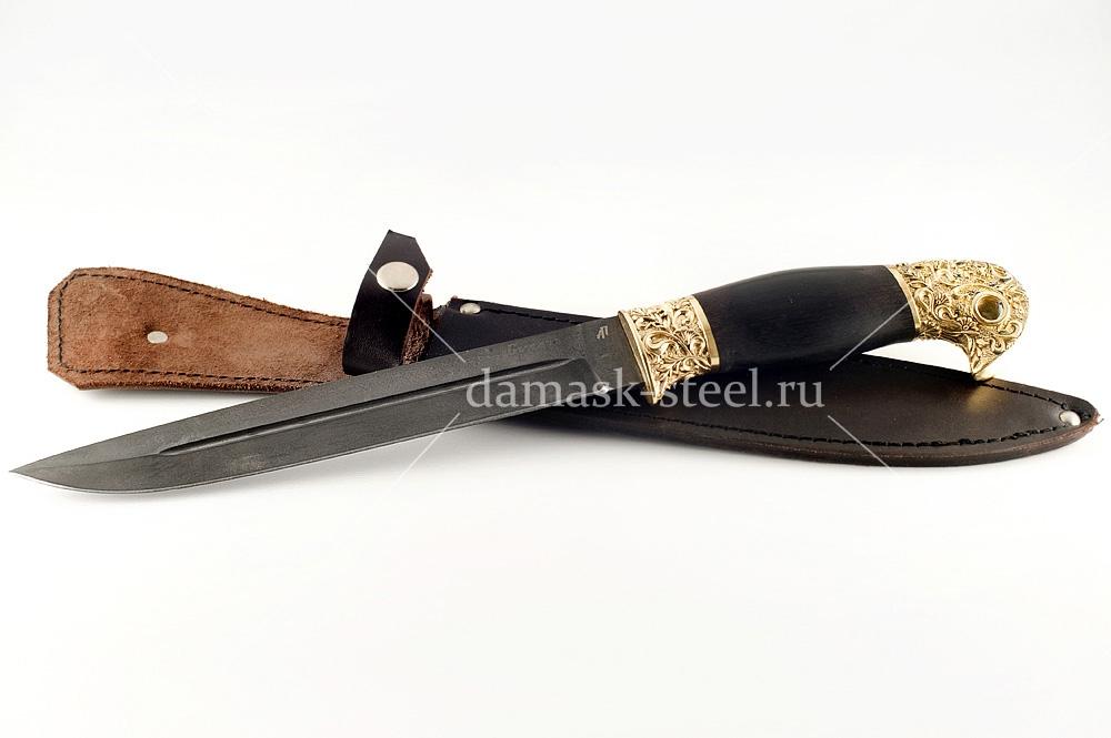 Нож Донской-12 сталь булат граб