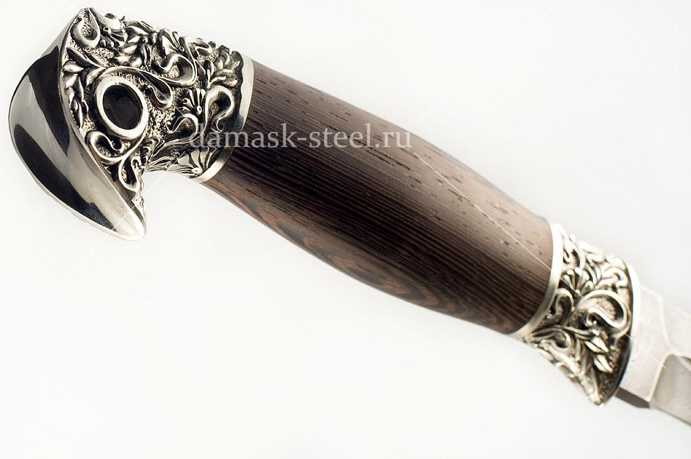 Нож Донской-14 сталь дамаск венге