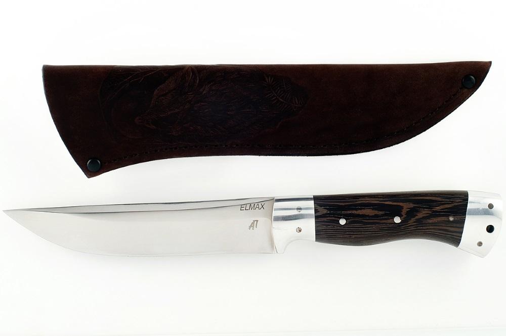 Нож Волк-2 сталь Элмакс цельнометаллический