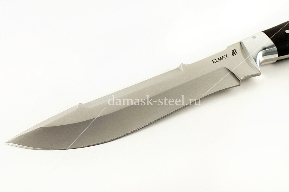 Нож Бизон-1 сталь Элмакс цельнометаллический (взрезка)
