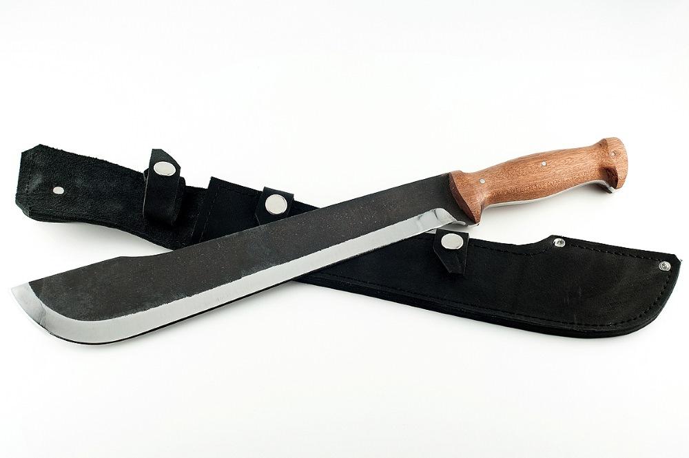 Мачете Камыш-3 сталь 95х18 сапеле