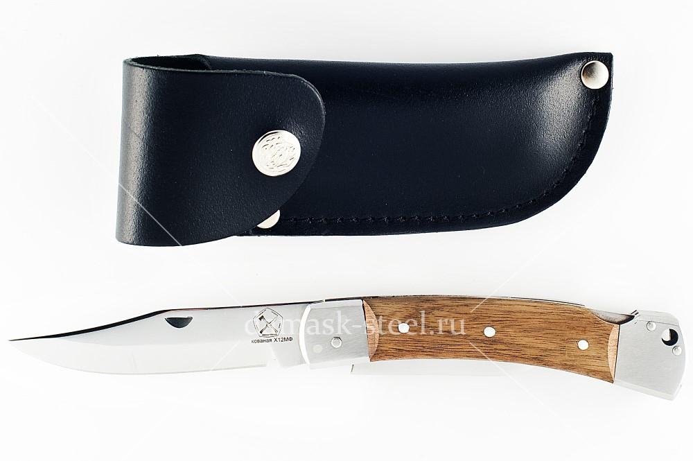 Нож Игла-9 сталь х12мф орех