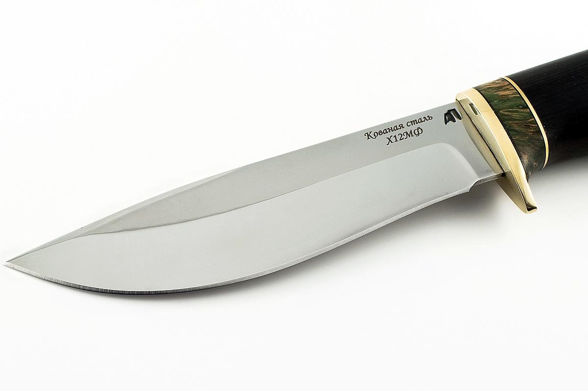 Нож Олень кованая сталь х12мф граб