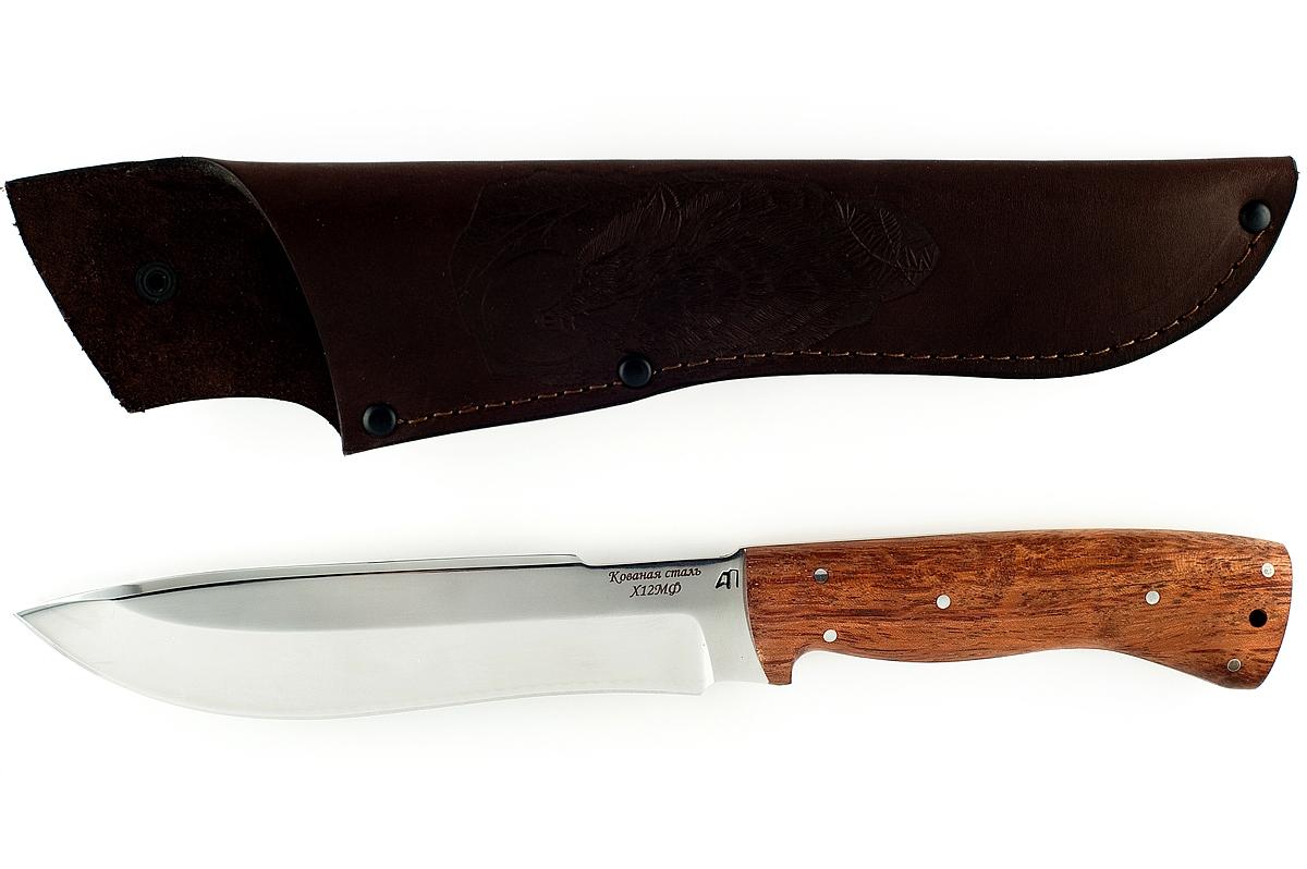 Нож Бизон-5 кованая сталь х12мф бубинга цельнометаллический