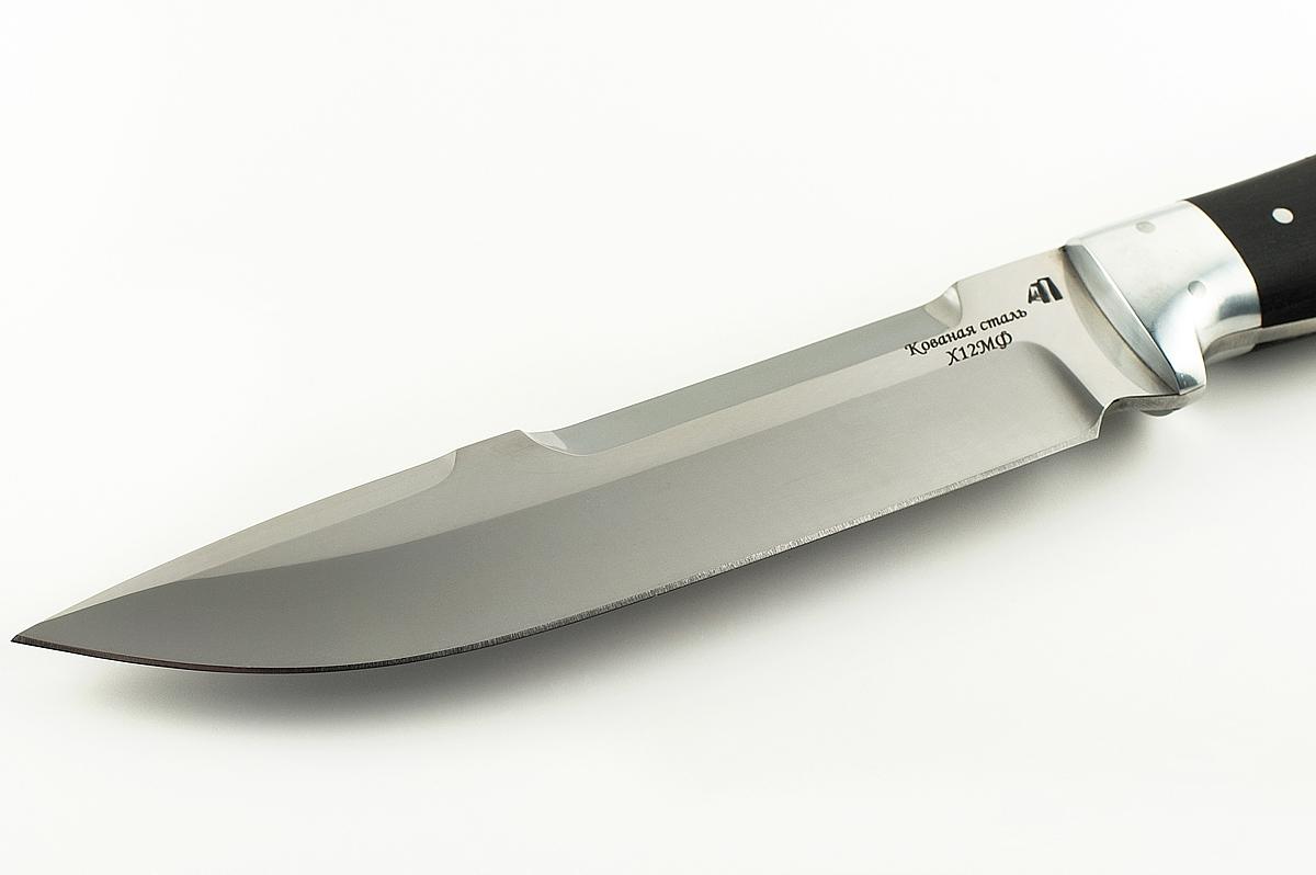 Нож Скорпион-8 кованая сталь х12мф цельнометаллический (взрезка)