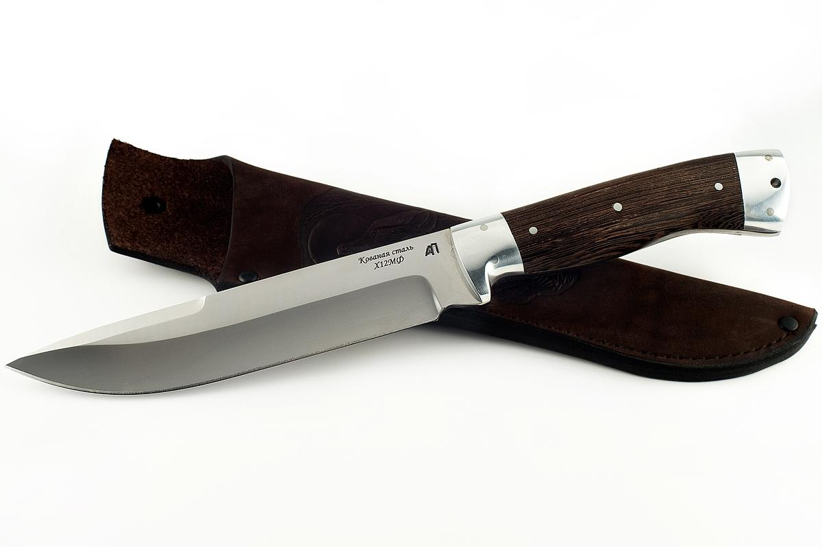Нож Скорпион-9 кованая сталь х12мф цельнометаллический