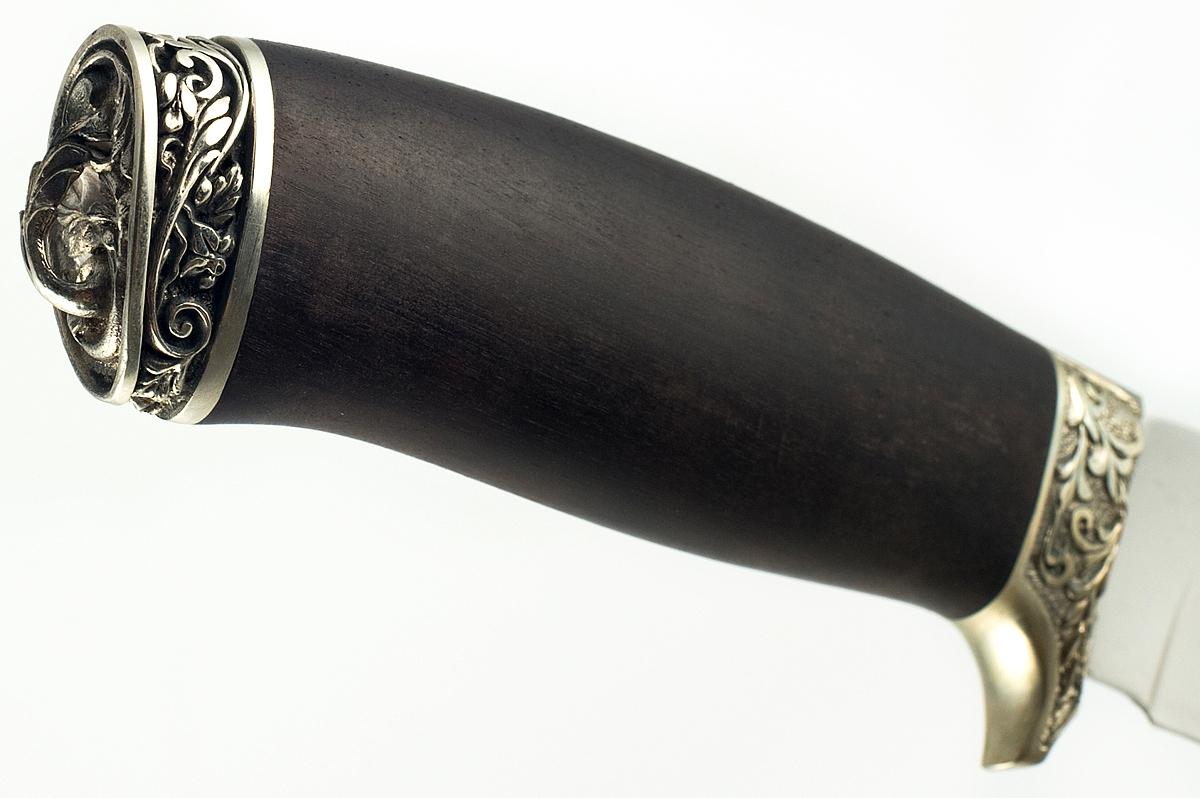 Нож Олень-4 кованая сталь х12мф граб