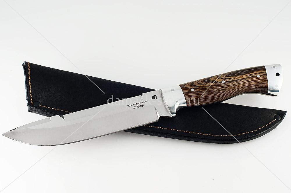 Нож Скорпион-10 кованая сталь х12мф цельнометаллический