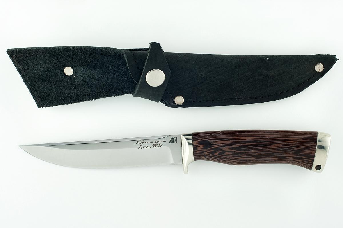 Нож Хорёк -11 кованая сталь х12мф венге