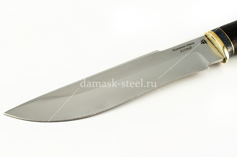Нож Бизон-9 кованая  сталь х12мф граб