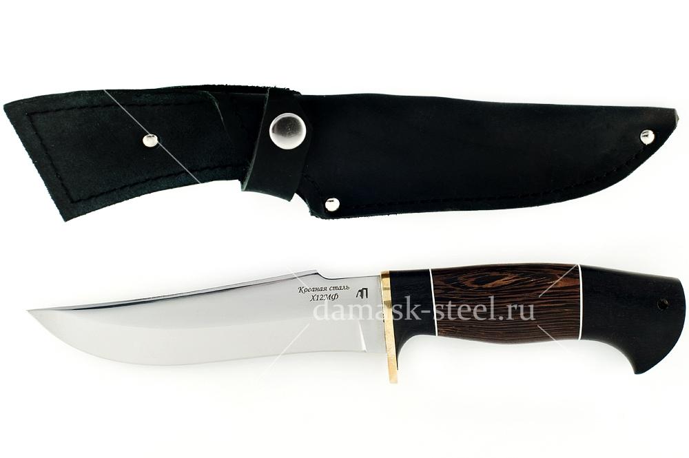 Нож Шершень-7 кованая сталь х12мф наборная рукоять