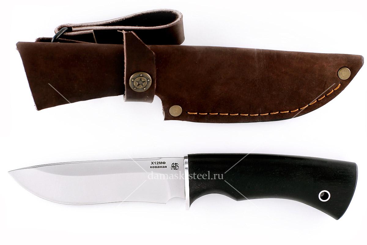 Нож Бобр(n)-1 кованая сталь х12мф граб