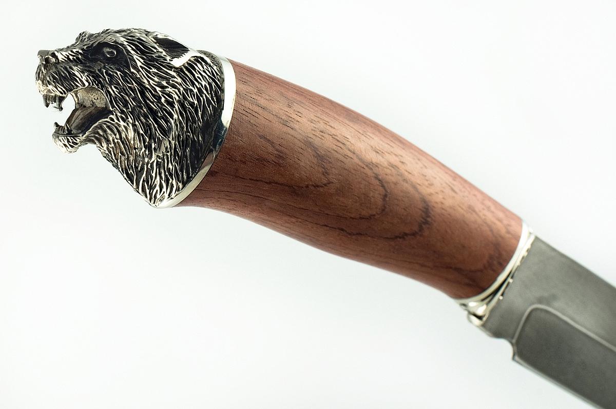 Нож Скорпион-2 кованая сталь ХВ-5 Алмазка бубинга голова